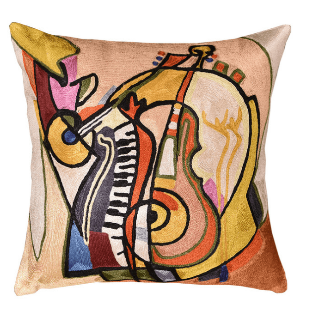 Music is my Life by Alfred Gockel Accent Pillow Cover