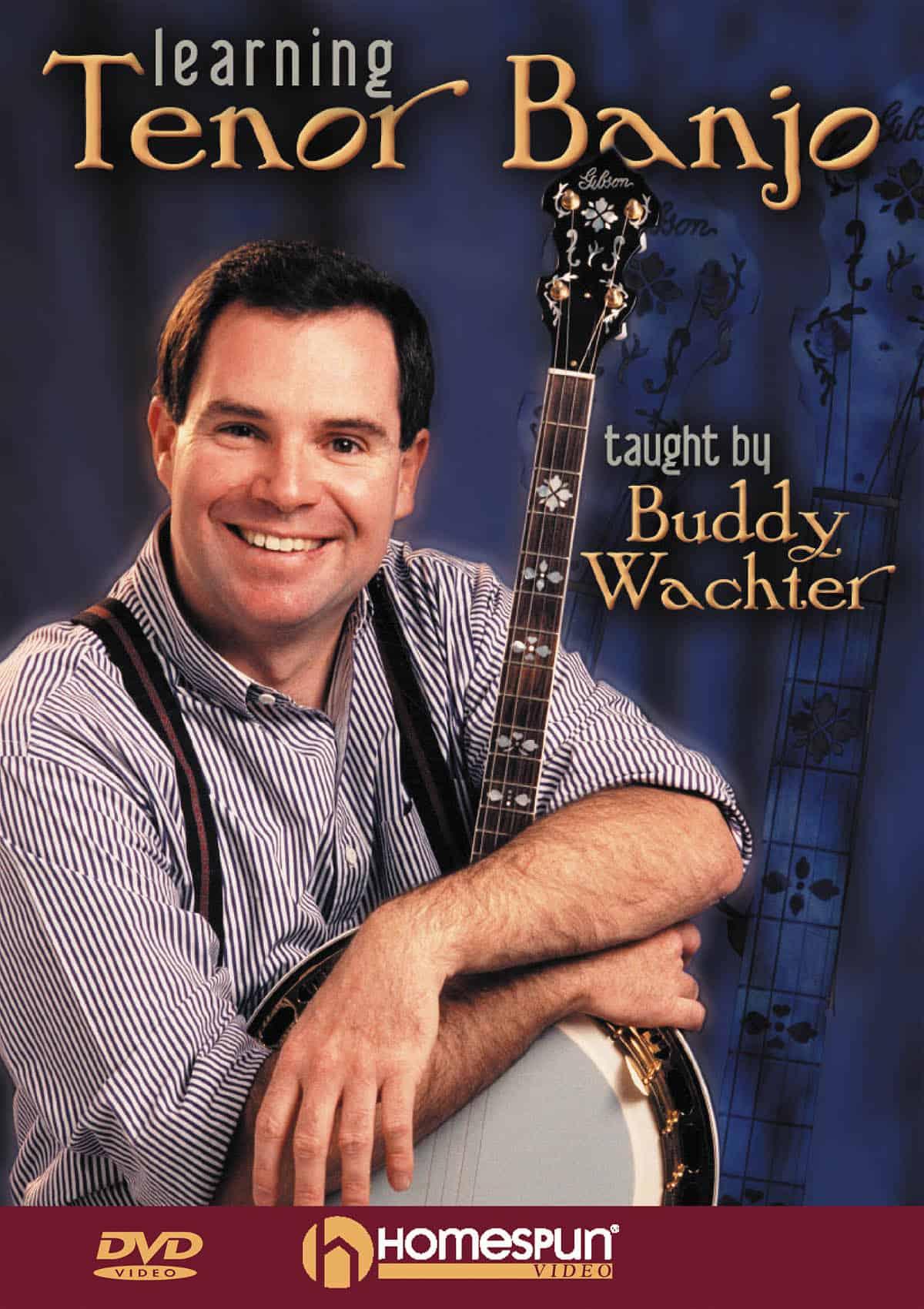Buddy Wachter learning tenor banjo