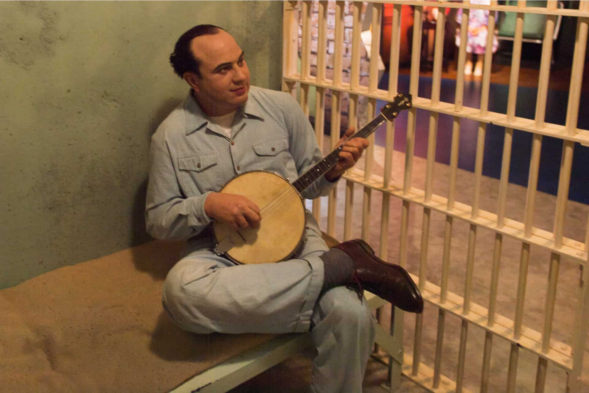 Which Prisoner Played the Banjo in the Alcatraz Inmate Band?