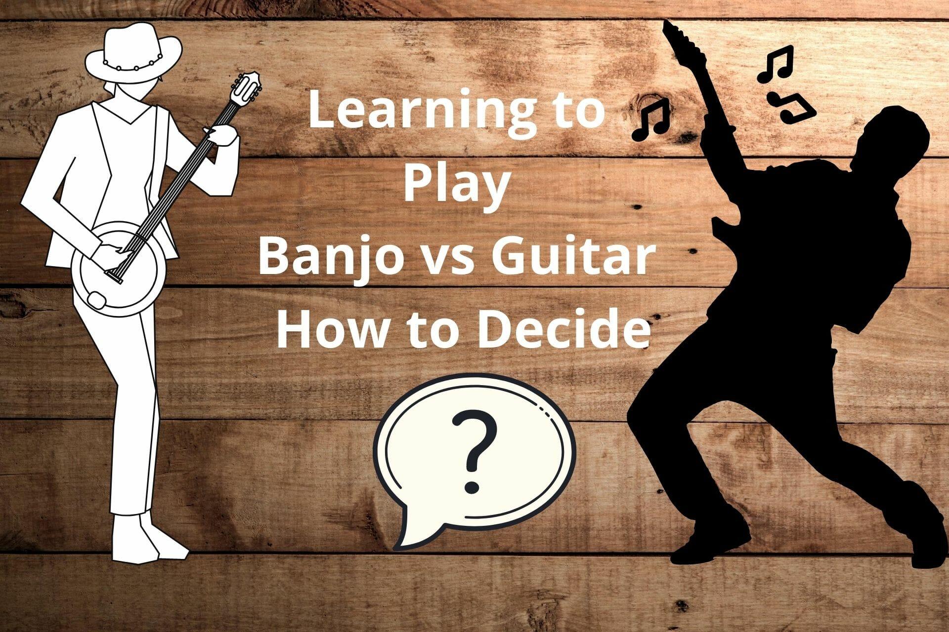 banjo vs guitar