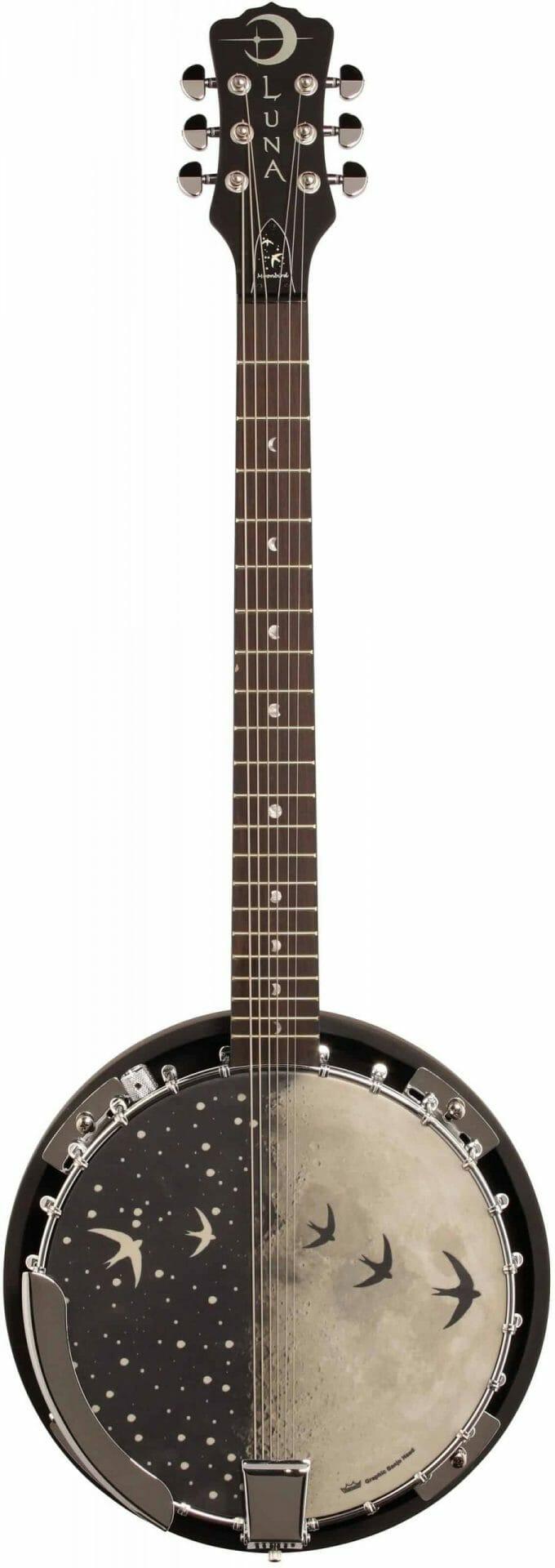 6 string banjo: Luna Moonbird Review