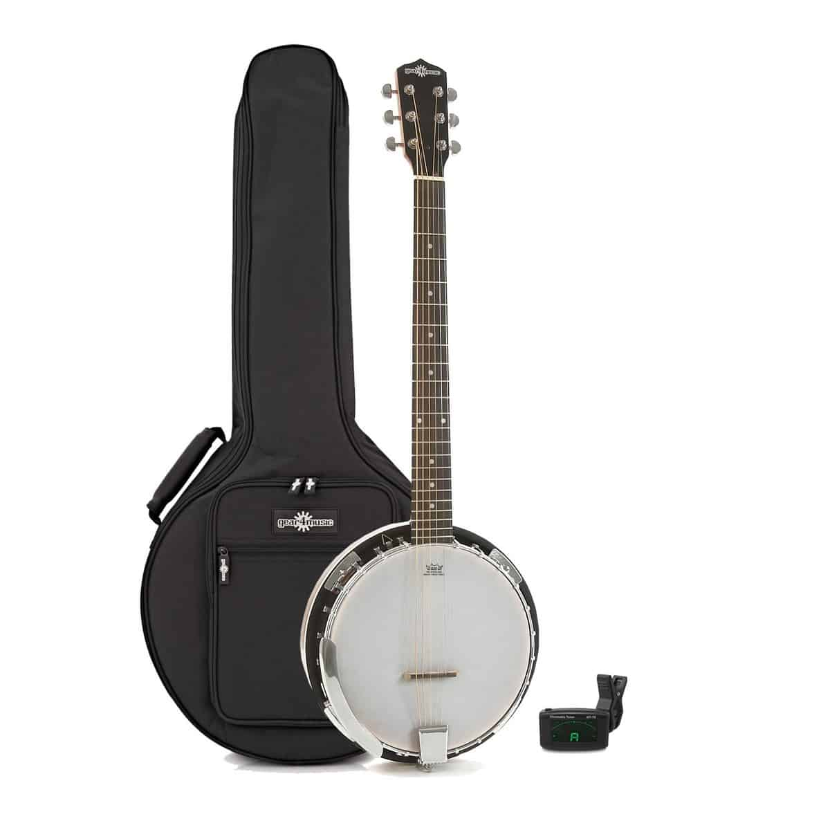 Gear4music 6 String Guitar Banjo Pack Review and Guide