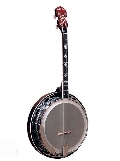 Gold-Tone Professional 4-String Irish Tenor Resonator Banjo