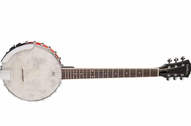 6 Strings open back Banjo Washburn